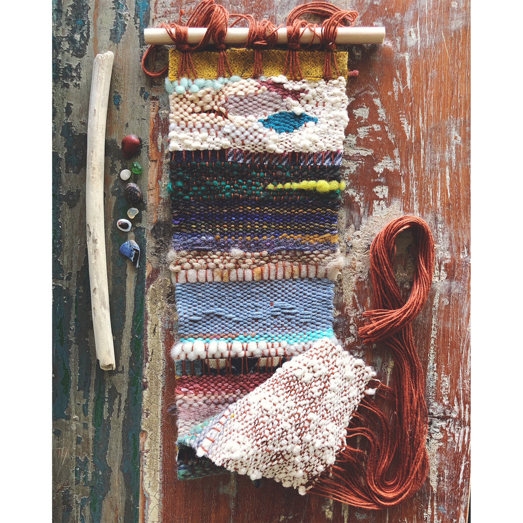 Pebble Beach weaving