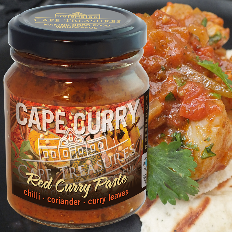Fish Curry (super-quick cook!) with Red Cape Curry Paste