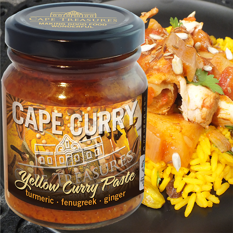 Chicken Curry with Yellow Cape Curry Paste