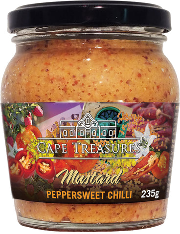 Peppersweet Mustard by Cape Treasures