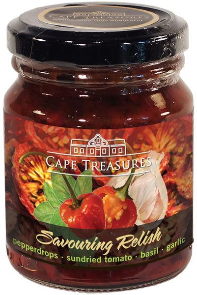 Savouring Relish - Pepperdrop Relish - Cape Treasures