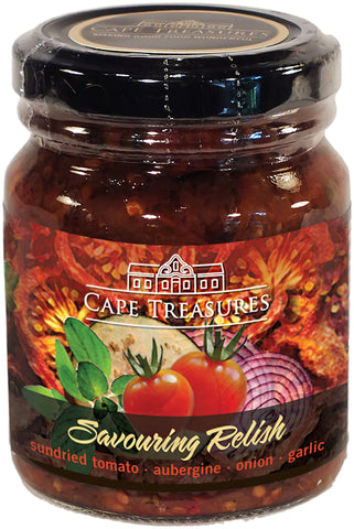 Savouring Relish - Sundried Tomato - Cape Treasures