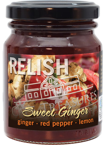 Savouring Relish - Sweet Ginger & Chilli - Cape Treasures