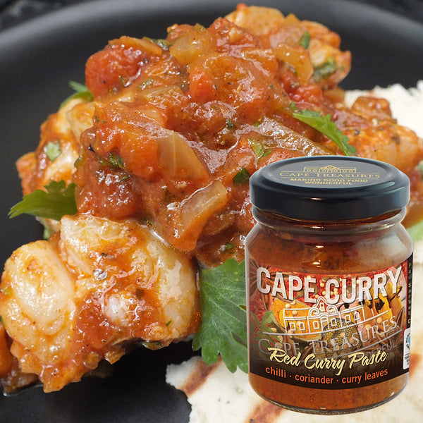Curry Paste RED - by Cape Treasures