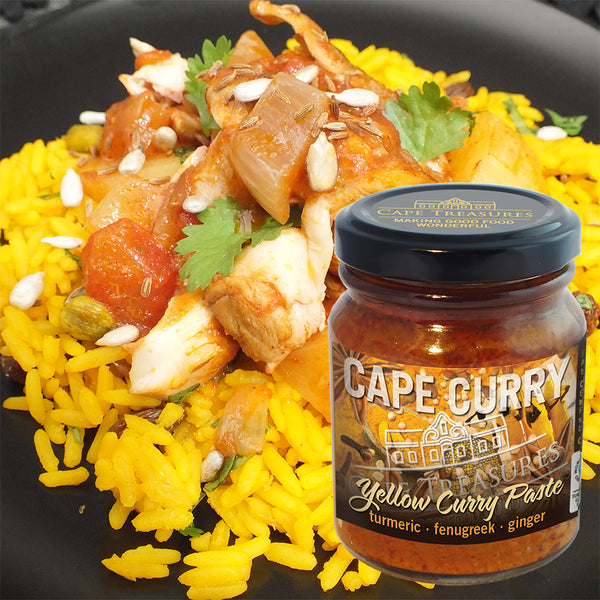 Cape Treasures Yellow Cape Curry Paste