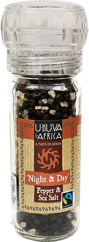 Grinder FLO Pepper - Night & Day Pepper & Salt - Ukuva iAfrica