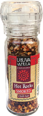 Grinder - HOT ROCKS Smoked Chilli Salt - Ukuva iAfrica