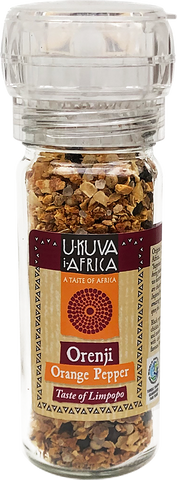 Grinder - Orenji Orange Pepper - Ukuva iAfrica