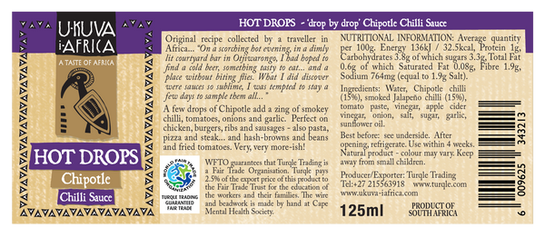Hot Drops - Chipotle Sauce - Ukuva iAfrica