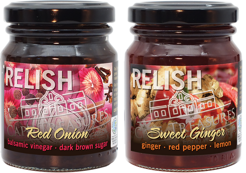 2021 GIFT - Relish Duo: Red Onion and Ginger - Cape Treasures