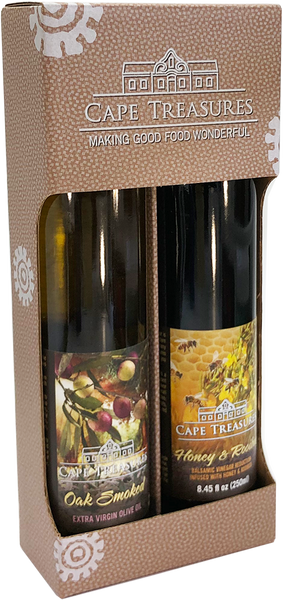 2021 GIFT Honey & Rooibos Reduction & Smoked Olive Oil - Cape Treasures