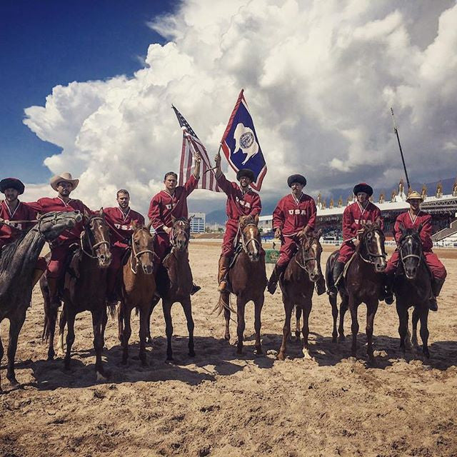 The Jackson Wyoming Cowboys Have Arrived . . . At the 2016 World Nomad Games
