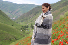 Gulmira Designer of Cedar Mountain Woolens Vista 360