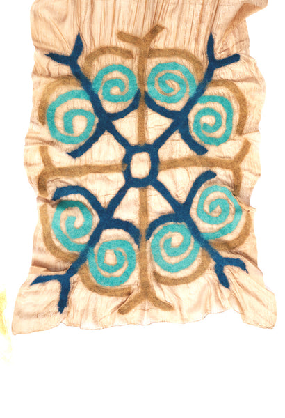 Traditional Kyrgyz Design- Blue