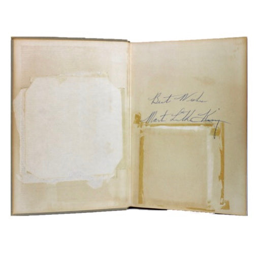 Signed Martin Luther King Biography
