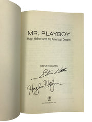 Signed Hugh Hefner Biography
