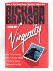 Signed Richard Branson 'Losing My Virginity'