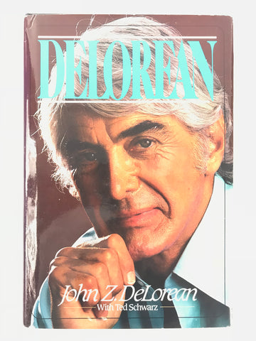 Signed John DeLorean Book 'DeLorean'