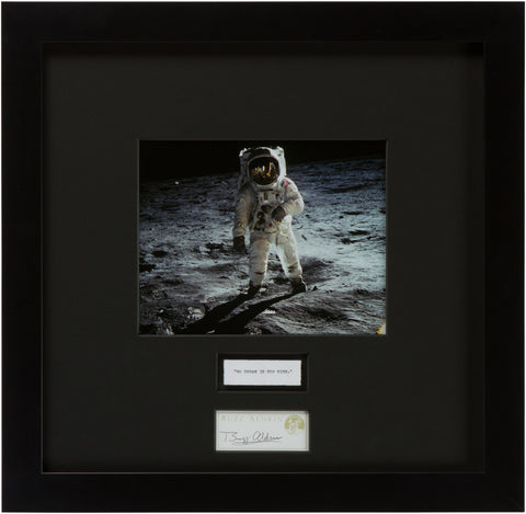 "Signed Buzz Aldrin: ""No Dream is Too High"""