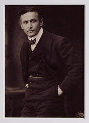 "Signed Harry Houdini: ""I always have on my mind..."""