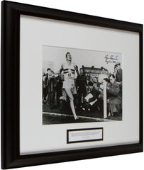 "Signed Roger Bannister: ""However ordinary each of us may seem..."""