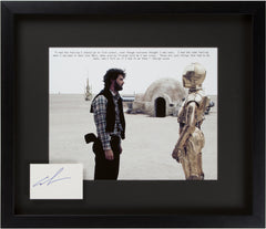 "Signed George Lucas: ""Even though everyone thought I was nuts!"""