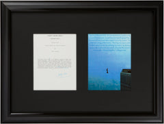 "Signed Philippe Petit: ""You need dreams to live"""