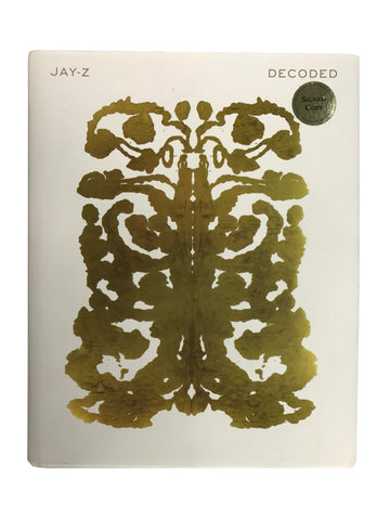 "Signed Jay Z: ""Decoded"""