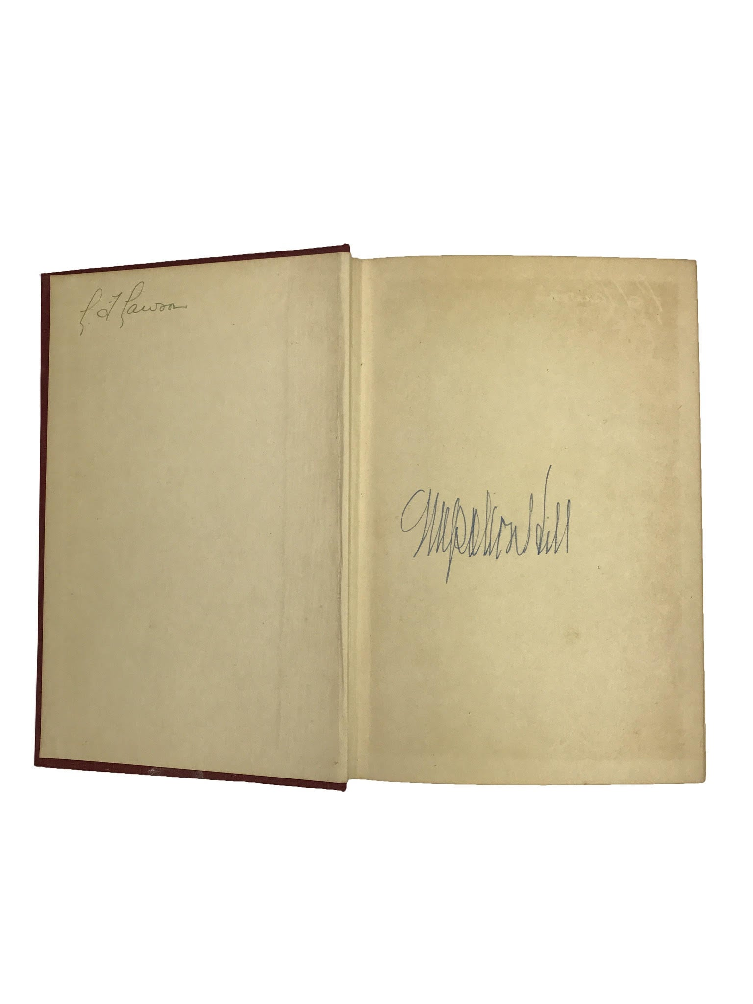Signed Napoleon Hill 'Think and Grow Rich'