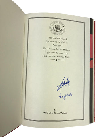 Signed Stan Lee 'Excelsior' - The Amazing Life of Stan Lee