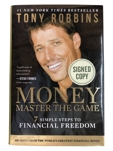 "Signed Tony Robbins: ""Money"""