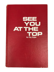 "Signed Zig Ziglar: ""See You at the TOP"""