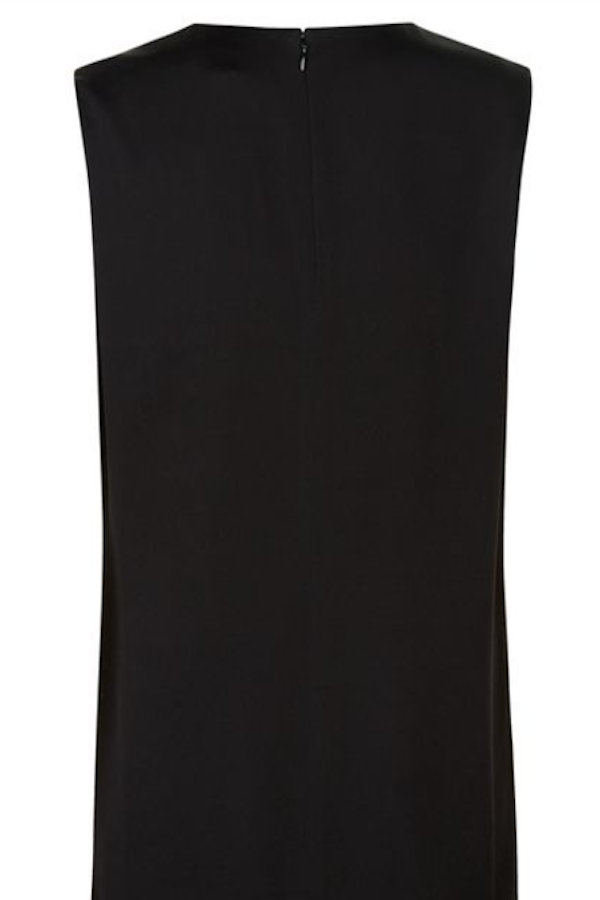 Black Formal Side Slit Tunic