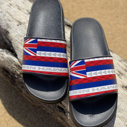 Born Hawaii Accessories HAWAIIAN FLAG FOOTWEAR