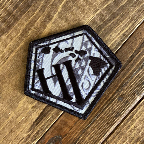 Born Hawaii Accessories IRON ON LOGO PATCH