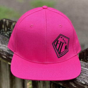 Born Hawaii Hat SOLID SNAPBACK HAT PINK