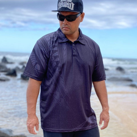 Born Hawaii Polo BLACK KANU POLO