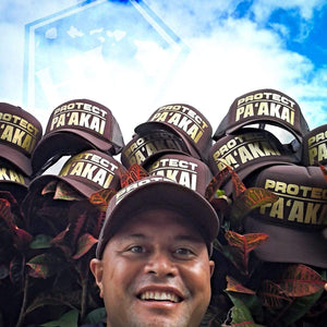 Born Hawaii PROTECT PA'AKAI TRUCKER HAT