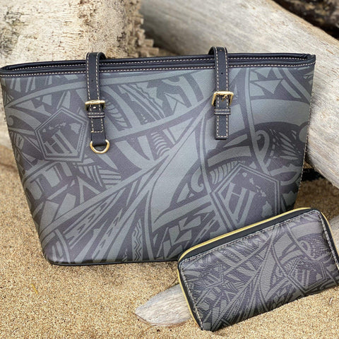 Born Hawaii Womens POLY TAT BAG/WALLET SET