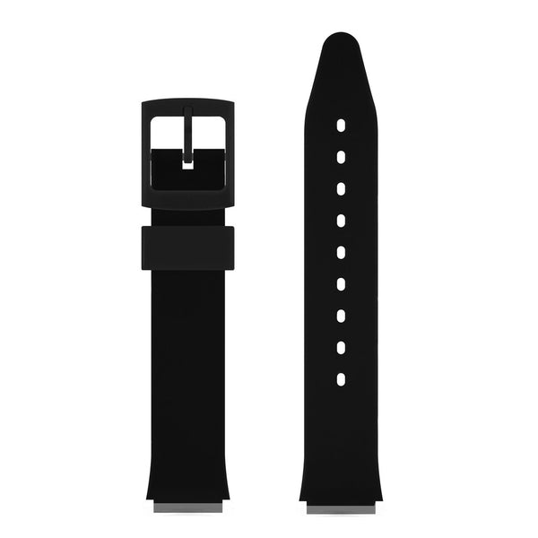 BLACK GLOSSY WATCH BAND