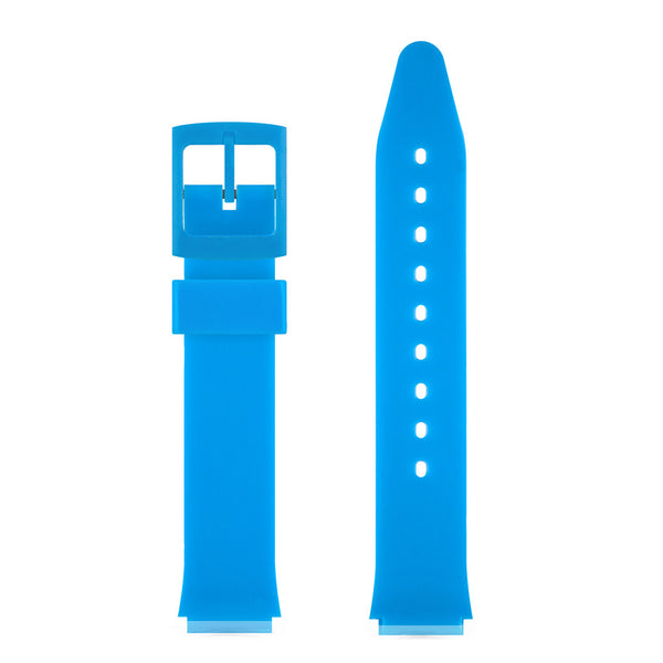 BLUE GLOSSY WATCH BAND