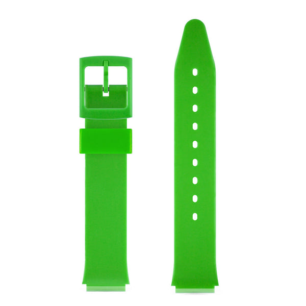 GREEN GLOSSY WATCH BAND