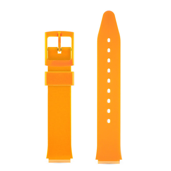 ORANGE GLOSSY WATCH BAND