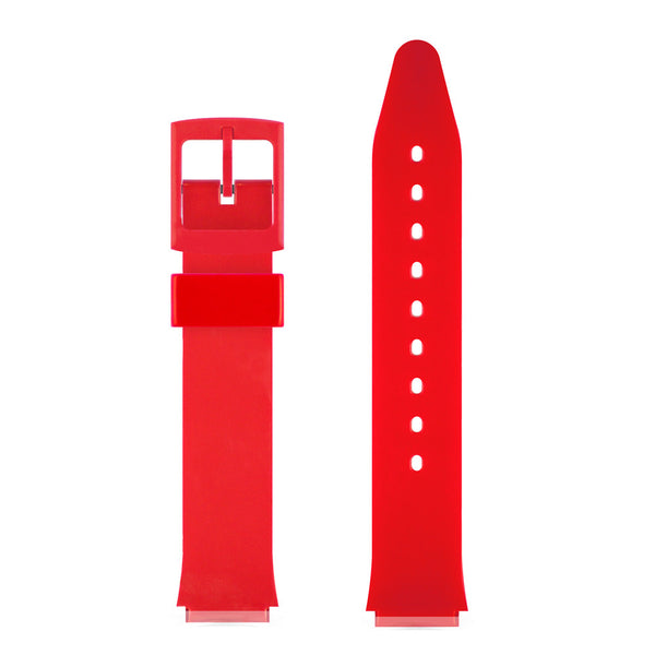 RED GLOSSY WATCH BAND