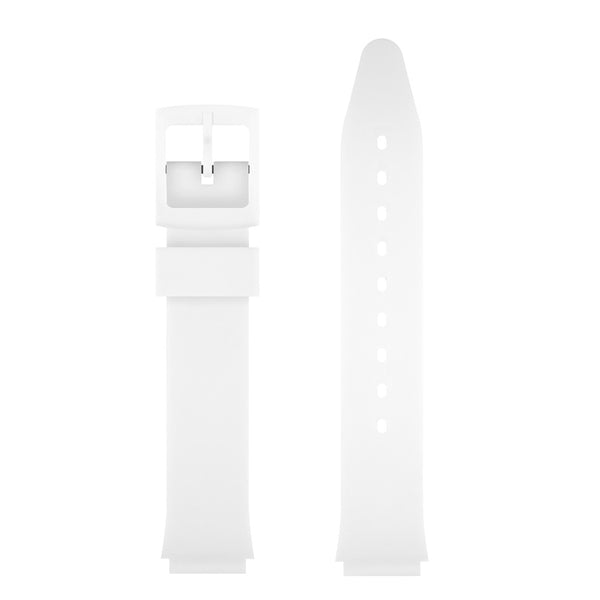 WHITE MATTE WATCH BAND