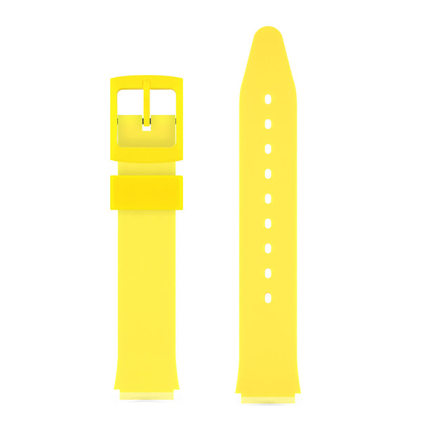 YELLOW GLOSSY WATCH BAND