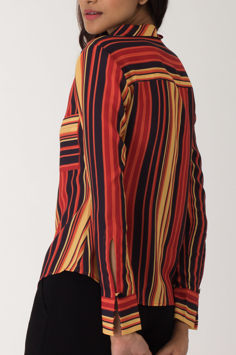 Tarot Stripe Formal Shirt
