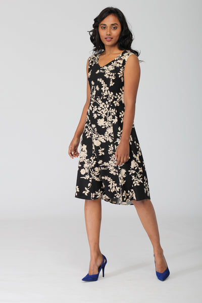 Jane A line dress with princess styleline