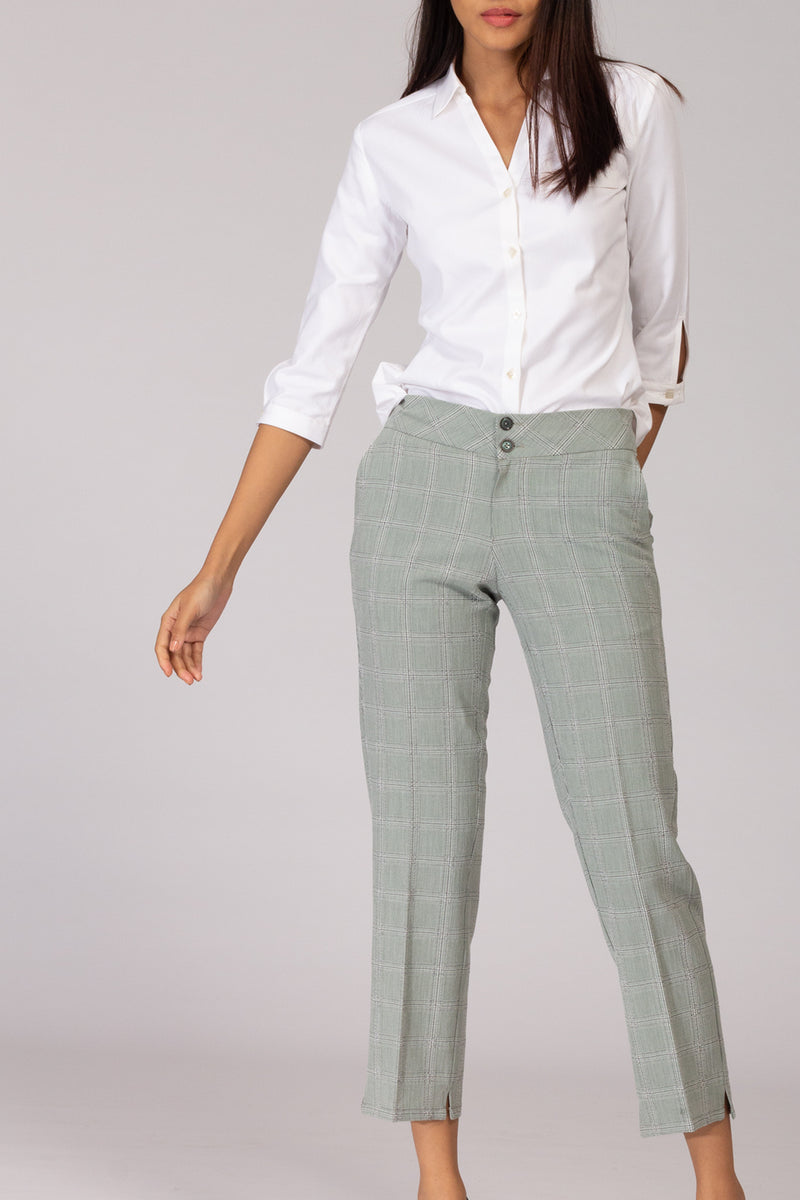Burlington Herringbone Pants