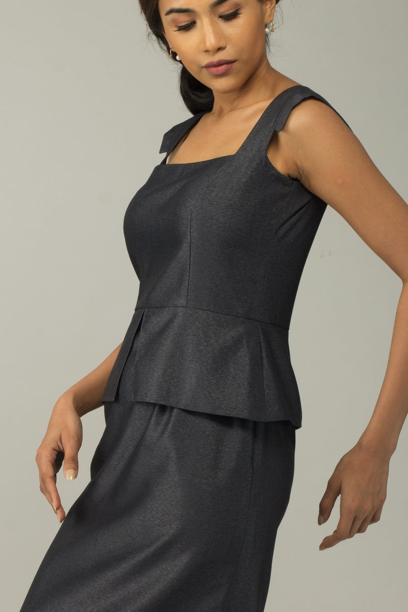 Aspen Square Neck Dress